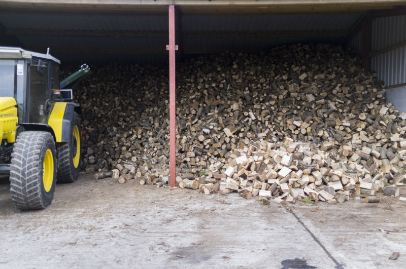Dry Stored Logs